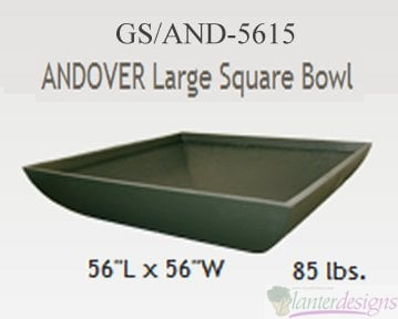 Adover Large Square Bowl