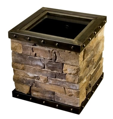Brick and steel - Byzan line planter