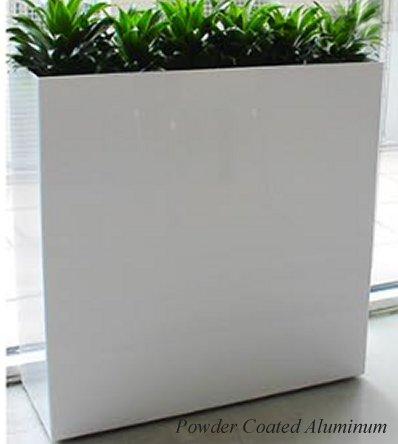 Aluminum Planter Wall Dividers