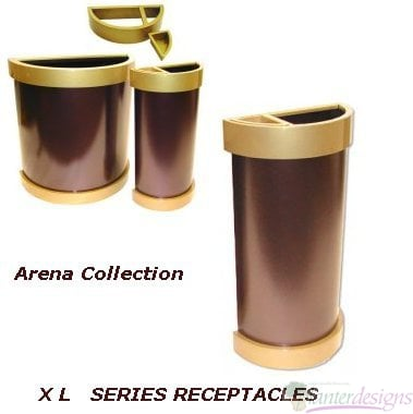 Waste Receptacle-Arena-XL-HR 1733 A-T HB