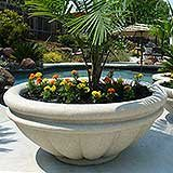 Roman Bowl Planter - Composite