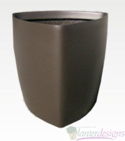 Tapered, Triangular planter