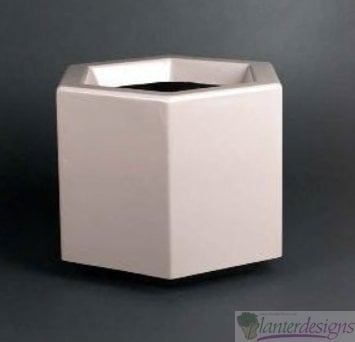 HEXAGONAL PLANTER - FIBERGLASS
