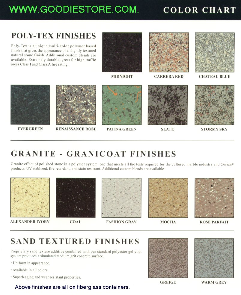 Fiberglass finish guide fe collection standard semi gloss colors navy blue russian sky aegean calypso hunter green greige indiana clay burgundy maroon red mesa tan ivory alabaster nvjuhfo Choice Image