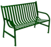 AL-MKE Kenton Metal Bench