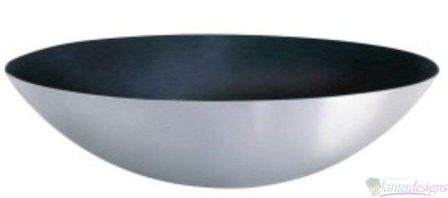 Fiberglass Flat Bottom Saucer Style Planter Bowls